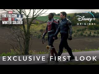 Exclusive First Look | The Falcon and the Winter Soldier | Disney+