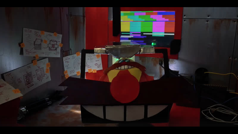 Eggman's Mean Time Machine