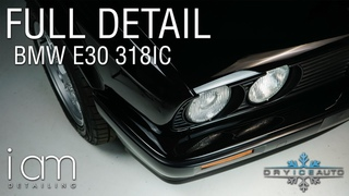 The CLEANEST BMW E30 318ic you'll see today! AFTER 60HOURS DRY ICE CLEANING with FULL REFRESH DETAIL