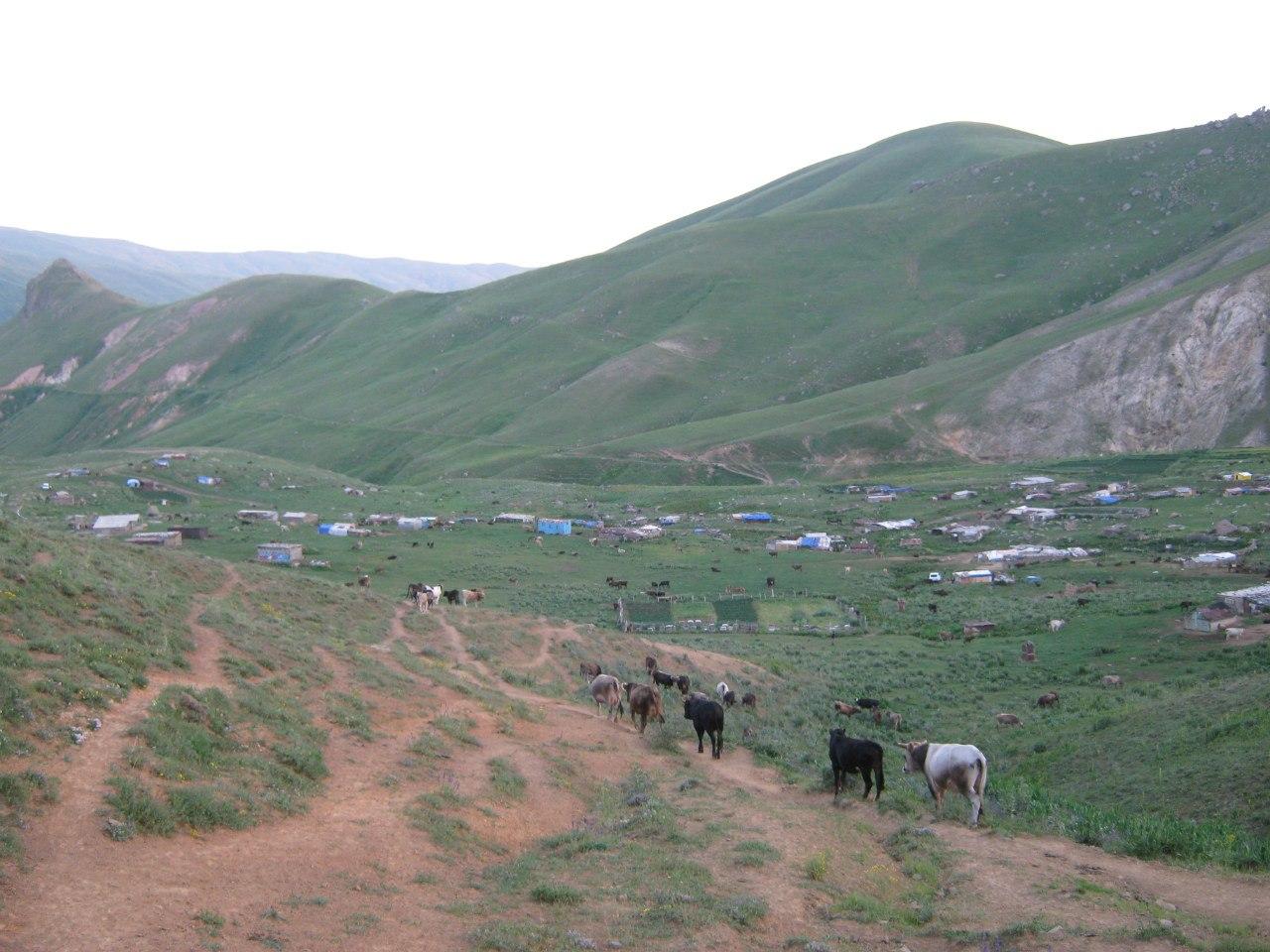 пастушеское селение в армянской провинции