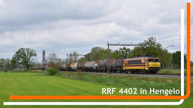RRF 4402 komt met keteltrein door Hengelo