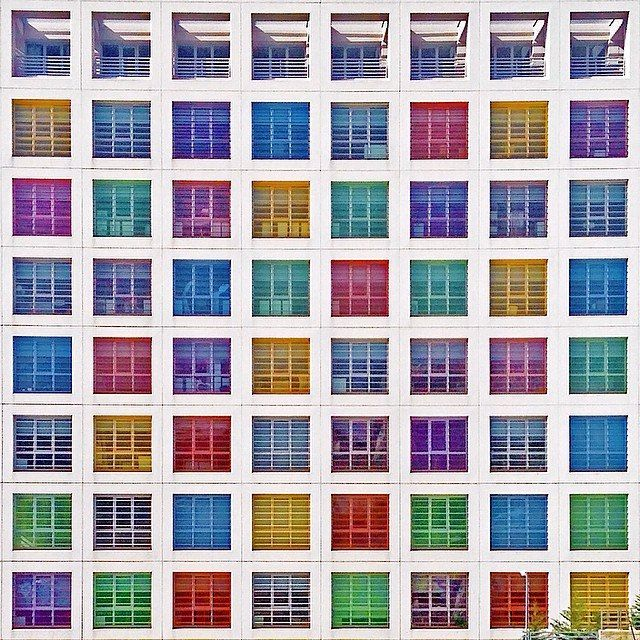 Istanbul Colourful Architecture, by Yener Torun