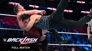 FULL MATCH - Roman Reigns vs. Samoa Joe: WWE Backlash 2018