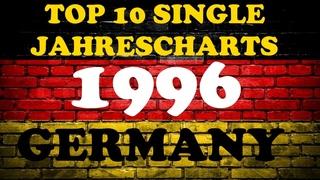 TOP 10 Single Jahrescharts Deutschland 1996   Year-End Single Charts Germany   ChartExpress