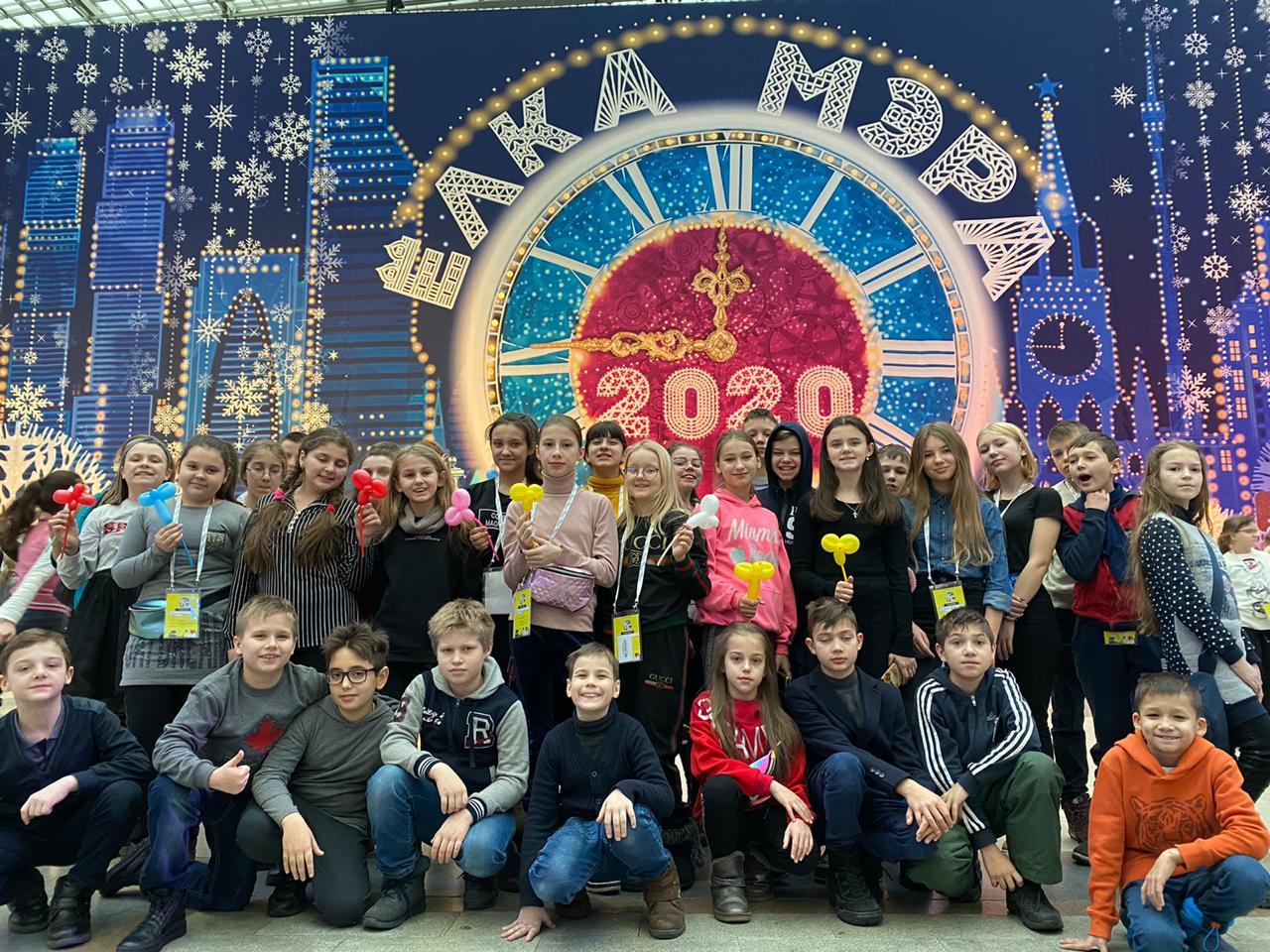 Дети из Донецка увлекательно провели новогодние каникулы в Москве
