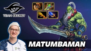 MATUMBAMAN Juggernaut Yurnero - Dota 2 Pro Gameplay [Watch & Learn]