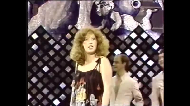 Раритетные съемки телевидения ГДР выступлений советской певицы Аллы Пугачевой в программе Пестрый котел