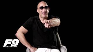 FAST 9 interviews Vin Diesel, John Cena, Justin Lin - Han, Saving Private Ryan, Better Luck Tomorrow