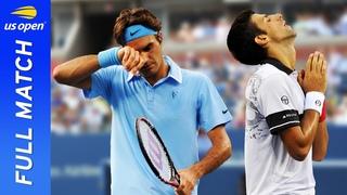 Novak Djokovic vs Roger Federer in a five-set stunner! | US Open 2010 Semifinal