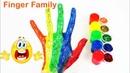 СЕМЬЯ ПАЛЬЧИКОВ - FINGER FAMILY Красный пальчик Учим цвета Песня про пальчики