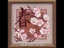 Набор для вышивания крестом Весна от Риолис. Начало процесса. Обзор набора.