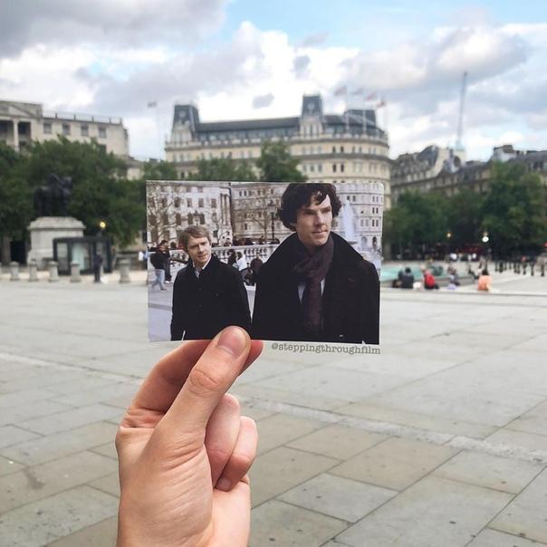 «Шерлок» в реальных локациях на фотографиях Томаса Дьюка