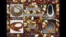 Бусы из жемчуга и колье из янтаря. До и после. Переделка для Натальи из Астрахани. Часть 2.