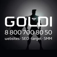 Логотип ГОЛДИ / Сайты и SMM / СММ / GOLDI /Ижевск