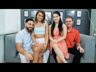 DaughterSwap - Secret Underwear Exchange / Mina Moon, Destiny Cruz