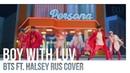 Elli HaruWei SerapH Boy With Luv BTS ft Halsey RUS COVER