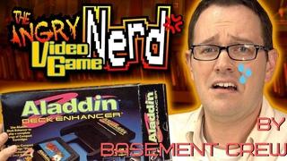 Angry Video Game Nerd (AVGN) - Журналы о Видеоиграх #167 ( Aladdin Deck Enhancer ) (Nintendo)