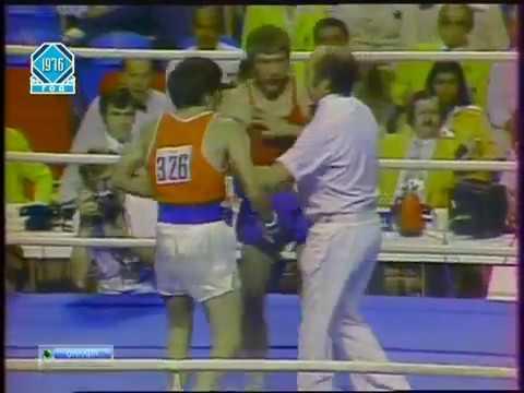 Бокс Симион Куцов- Василий Соломин Олимпиада 1976 До 60 кг 1/2
