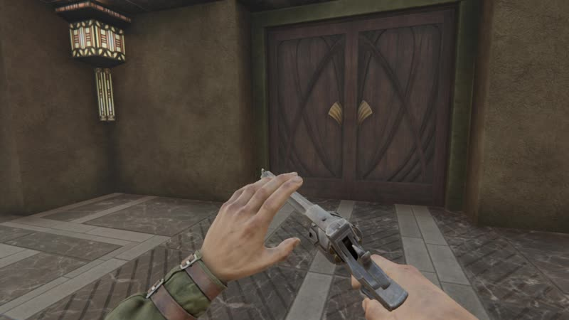 Shooting reloading and jamming animations Pathologic 2 revolver