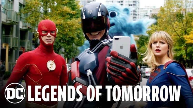 Легенды завтрашнего дня Трейлер 100 эпизодов за 100 секунд с мероприятия DC FanDome 2021