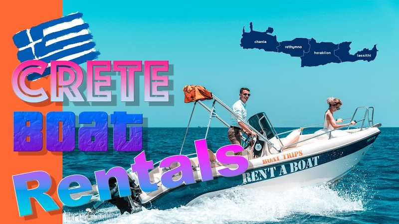 Crete Boat Rentals Greece