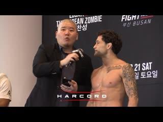 Интервью с Фрэнки Эдгаром в рамках открытой тренировки перед турниром UFC Busan