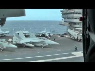 Авианосец «Дж. Буш» самый мощный боевой корабль в мире