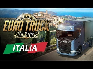 Euro Truck Simulator 2! Ночная поездка! Серия #12