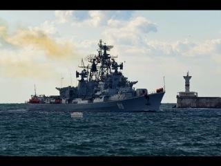 Военно-морской парад в Севастополе 9 мая 2014