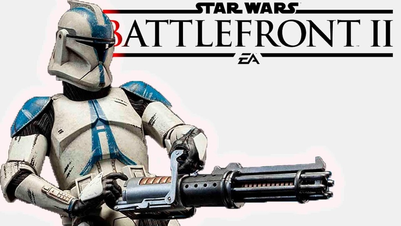 Star Wars Battlefront II Тяжелый боец полный обзор