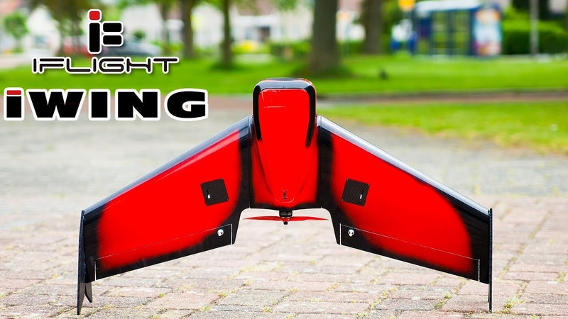 IFlight iWing W850 Not just another FPV Wing SHOW TELL