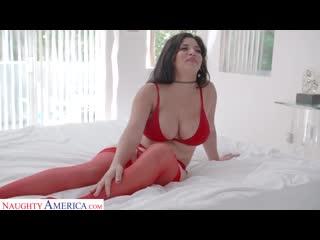 Парень трахает толстую девушку в красных чулках, sex porn tit ass boob thick fat curvy milf girl red fuck HD cum (Hot&Horny)
