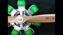星型エンジンを作ってみた【電動】DIY Radial Solenoid Engine