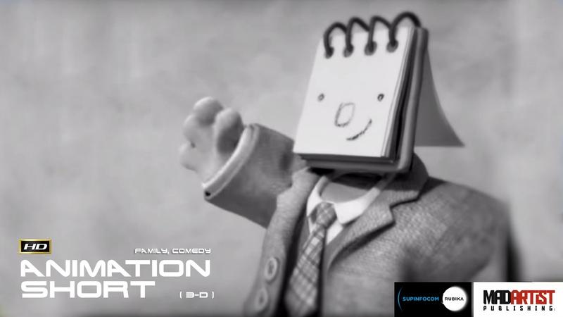 CGI 3D Animated Short Film TIM TOM Cute Funny Animation by Supinfocom