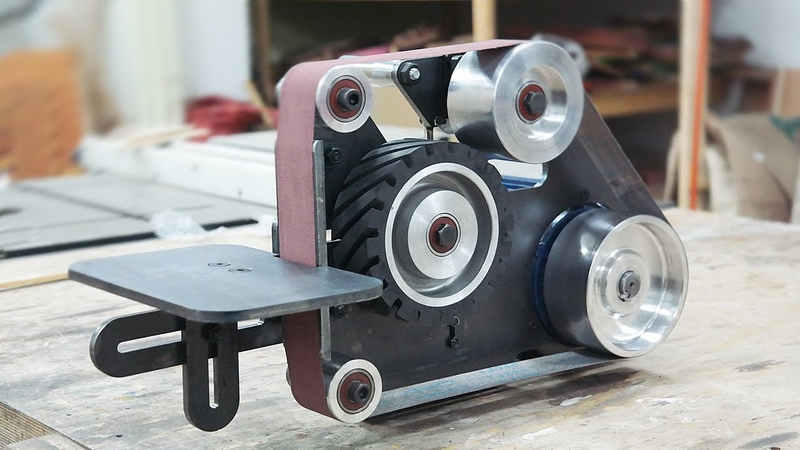 2 x 48 Belt Grinder Build / 작은 사이즈의 벨트그라인더 만들기