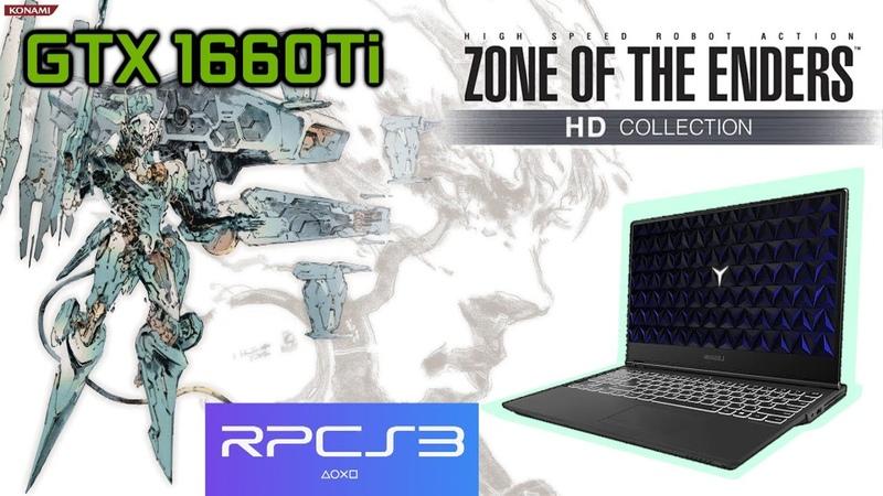 [RPCS3] Zone Of the Enders HD | GTX 1660Ti I5 9300h Lenovo Legion Y540 Gaming