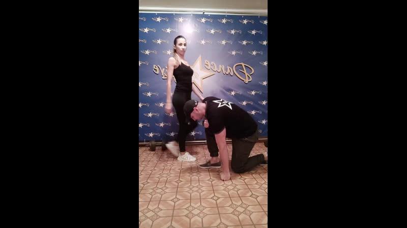 DANCE and LIVE   Бачата в Самаре   Денис Новиков и Анастасия Павленко   Оставайся дома   Самара   2020