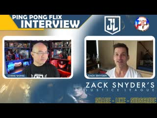 Ping Pong Flix — Interview with Zack Snyder