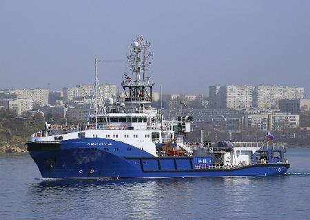 Экипаж морского буксира «Андрей Степанов» приступил к очередному этапу госиспытаний
