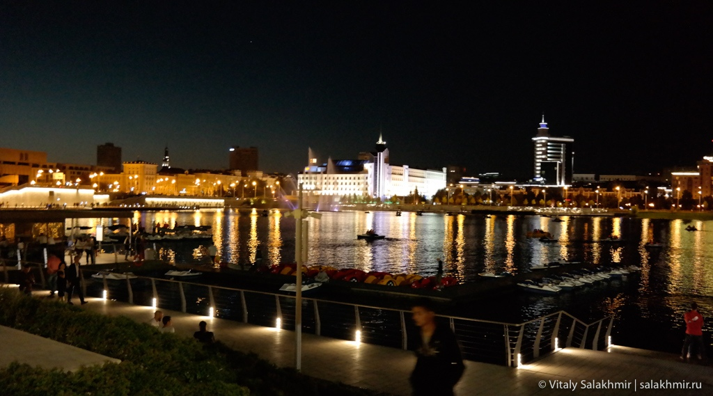 Набережная озера Кабан, Казань 2020
