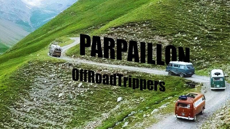 On passe le col du Parpaillon en VW T2 T3 et Honda CRV