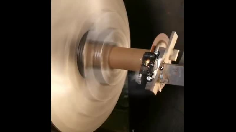 Shimano brake test on lethe macine. Watchout!