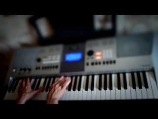 Combichrist - Throat Full Of Glass (chorus) | Piano cover by Fan