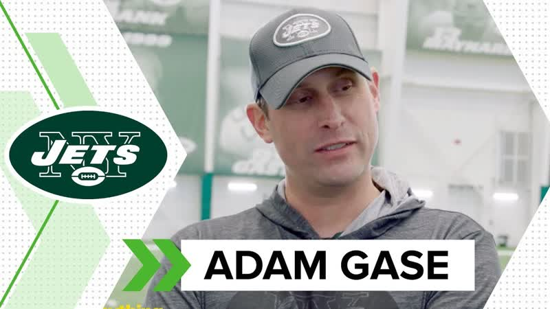 Adam Gase Press Conference at the Jets Voluntary Minicamp-(4_23)