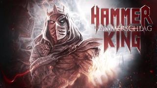 HAMMER KING - Hammerschlag (Official Lyric Video) feat. Gerre, Isaac & The Crusader | Napalm Records