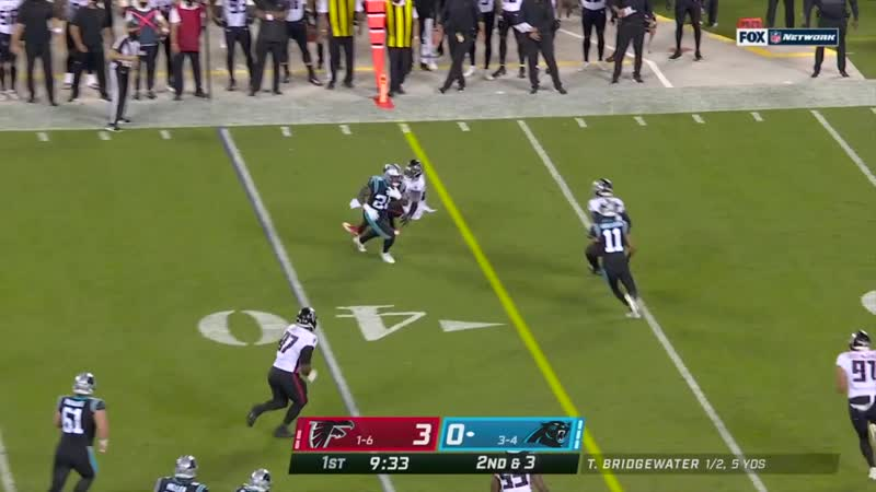 Panthers March Downfield to Set Up a Curtis Samuel TD on Opening Drive
