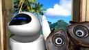 ВАЛЛИ И ЕВА - прикольный мультик про роботов