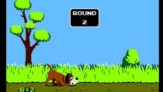 Duck Hunt (Утиная охота) Dendy, NES gameplay [158]