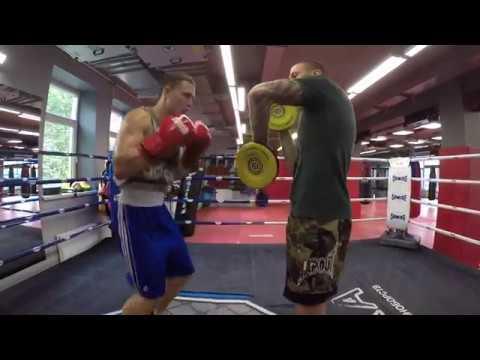 Развитие координации в боксе работа на ногах разножка Урок от Андрея Басынина