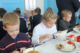 Организация питания в Кузьминских Отвержках проверена